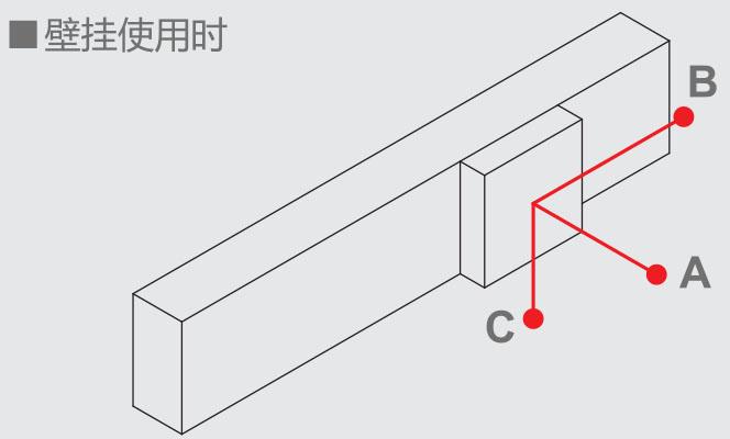 XSK直线电机模组壁挂使用时负载参数尺寸表